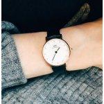 Daniel Wellington Women's Classy Sheffield Analog Display Quartz Black Watch