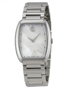 MOVADO Concerto White Mother of Pearl Stainless Steel Ladies Watch