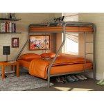 Dorel Twin-Over-Full Metal Bunk Bed
