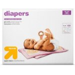 (2) Diapers Giant Pack (Select Size) - up & up