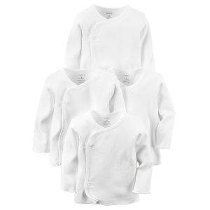 Baby Girl 4-Pack Kimono Tees | Carters.com