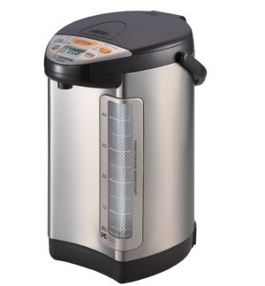 Zojirushi America Corporation CV-DCC50XT VE Hybrid Water Boiler and Warmer, 4-Liter, Stainless Dark Brown