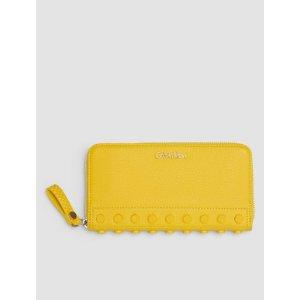 studded large zip wallet | Calvin Klein