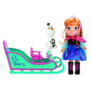 Disney Frozen Anna and Sleigh