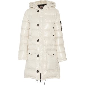 Corcira quilted shell down coat | Duvetica