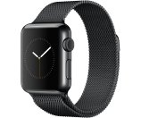 Apple Watch (1代) 38mm 黑色不锈钢外壳 米兰表单