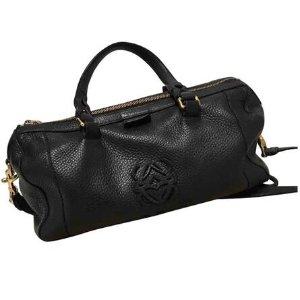 black Leather LOEWE Handbag - Vestiaire Collective