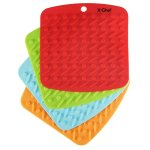 X-Chef Hot Pads Pot Holders Insulated Non Slip set of 4