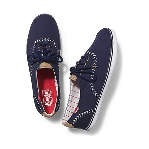 Women - CHAMPION PENNANT - Navy White | Keds