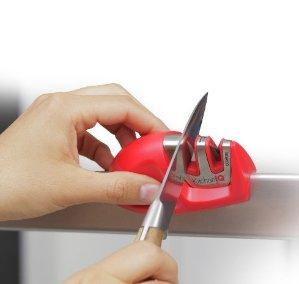 $5.99 KitchenIQ 50009 Edge Grip 2 Stage Knife Sharpener @ Amazon