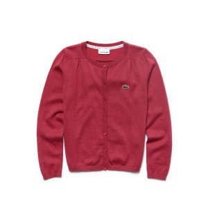 CREW NECK CONTRAST ACCENT SWEATER
