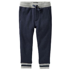 Toddler Boy Sweater-Fleece Joggers | OshKosh.com