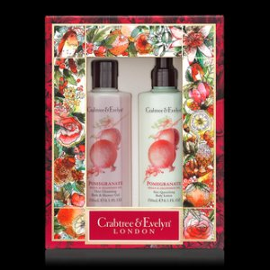 Pomegranate, Argan & Grapeseed Bath & Body Duo - Crabtree & Evelyn