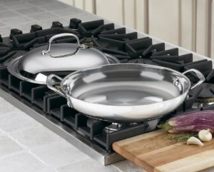 $19.99 Cuisinart 725-30D Chef's Classic Stainless 12-Inch Everyday Pan with Dome Cover