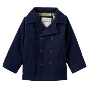 Baby Boy Carter's Double-Breasted Peacoat