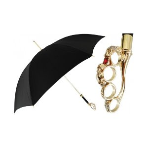 Unineed.com | Pasotti Women Luxury Brass Knuckle handle Umbrella - Premium beauty and fashion from Unineed.com