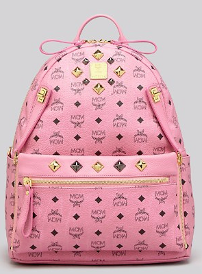 30% Off + Up to $100 Gift Card with MCM Visetos Medium Stark Backpack @ Bloomingdales
