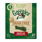 Greenies Grain Free Dental Treats Regular Size