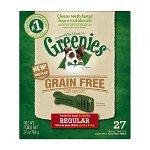 Greenies 无谷物汪星人洗牙棒,27盎司装