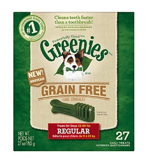 Greenies Grain Free Dental Treats Regular Size