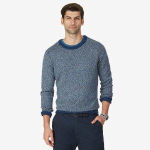 Tri-Twist Crew Sweater