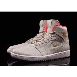 Jordan AJ 1 Retro High Nouveau - Men's - Basketball - Shoes - Light Bone /Metallic Coppercoin/White/Infrared 23