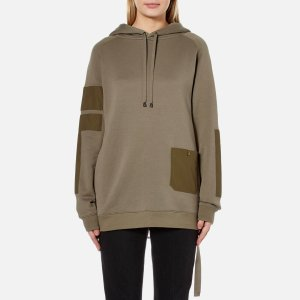 Helmut Lang Women's Patch Pocket Sweatshirt - Vintage Marsh - Free UK Delivery over £50