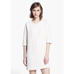 Cotton shift dress - Women | OUTLET USA