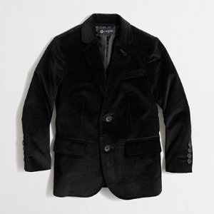 Kids' Thompson stretch velvet blazer : Thompson Suits | J.Crew Factory