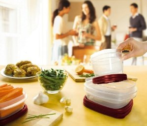 $15.99 Rubbermaid Easy Find Lid Food Storage Set, 42-Piece