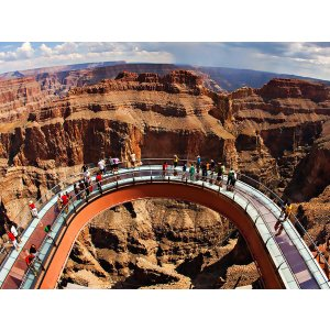 One Day Tour to Las Vegas, Hoover Dam, Grand Canyon, Eagle Point, Guano Point, Skywalk etc.