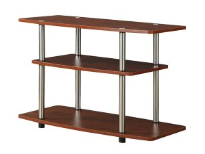 $16.77 Convenience Concepts Designs2Go 3-Tier TV Stand