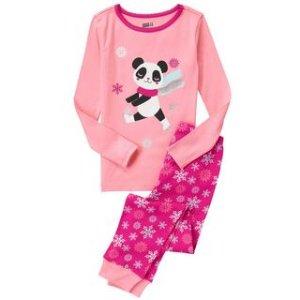 Panda 2-Piece Pajama Set at Crazy 8