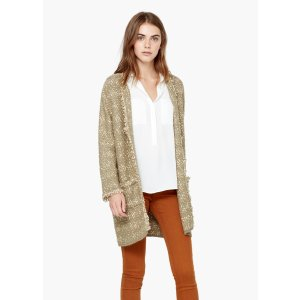 Frayed edges cardigan - Women | OUTLET USA