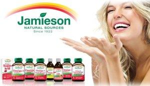 低至$4.63起!Amazon.ca 精选Jamieson健美生营养保健品低价促销