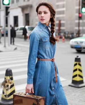 Up to 70% Off Women's Denim Dresses @ ASOS