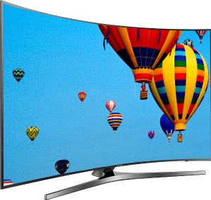 "$799.99 Samsung UN55KU6500 Curved 55"" 4K Ultra HD LED Smart TV +$250 Gift Card"