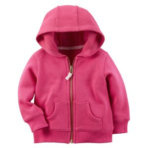 Baby Girl French Terry Hoodie | Carters.com