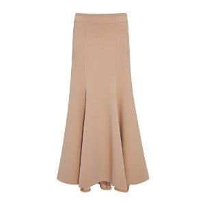 Long Structured Wool Skirt by Jonathan Simkhai | Moda Operandi