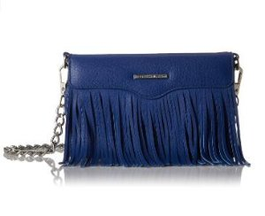 $52.7 Rebecca Minkoff Universal Fringe Crossbody Iphone 6 Galaxy S6 Phone Wristlet, Cobalt