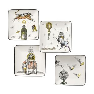 Cirque Appetizer Plate, Set of 4 | Pottery Barn