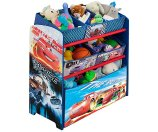 Disney - Cars Multi-Bin Toy Organizer - Walmart.com