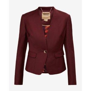 Tailored jacket - Oxblood