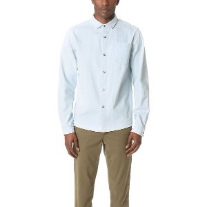 A.P.C. John Shirt | EAST DANE | Use Code: GOBIG16 for Up to 25% Off