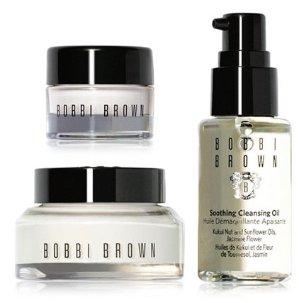 $25(Value $64)+ $10 Off Every $50 Bobbi Brown Skincare on the Fly Travel Set @ macys.com
