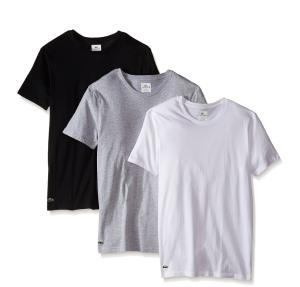 $24.79(reg.$42.5 ) Lacoste Men's Essentials Cotton Crew-Neck T-Shirt (Pack of Three)