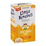 $2.60 with Free Shipping Little Remedies Sore Throat Pops, 10 Count
