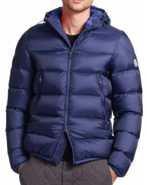 $738(Org. $1230) Moncler Chauvon Hooded Down Jacket @ Saks Fifth Avenue