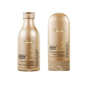 Lightning Deal! L'Oreal Series Expert Absolut Repair Lipidium Shampoo 8.45oz and Conditioner 5.0 oz set