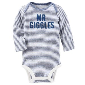 Baby Boy Mr. Giggles Bodysuit | OshKosh.com